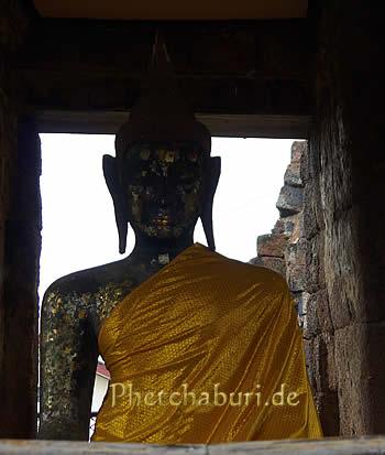 Sitzender Buddha in Thailand