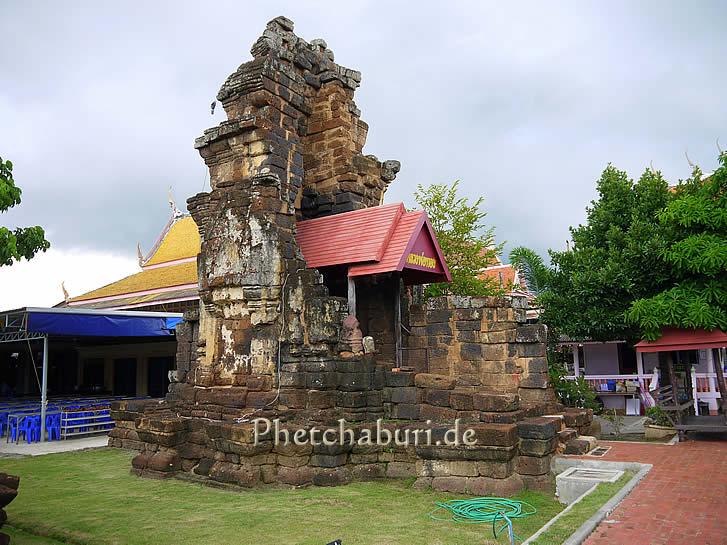 Tempelruine in Phetchaburi
