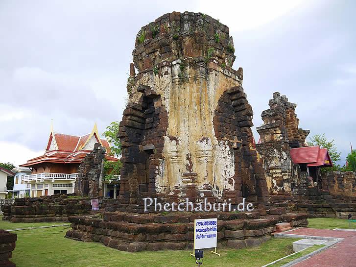 Shiva Pagoda in Phetchaburi