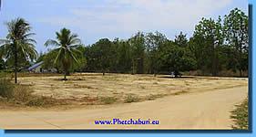 Land Verkauf Cha-Am nahe dem Strand