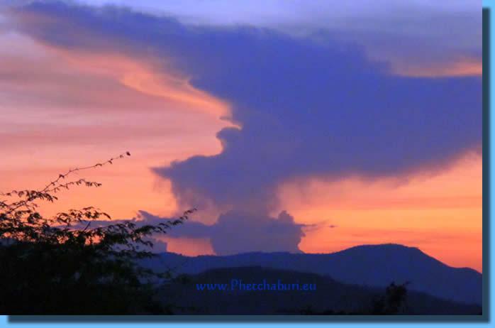 Sonnenuntergang in Cha-Am